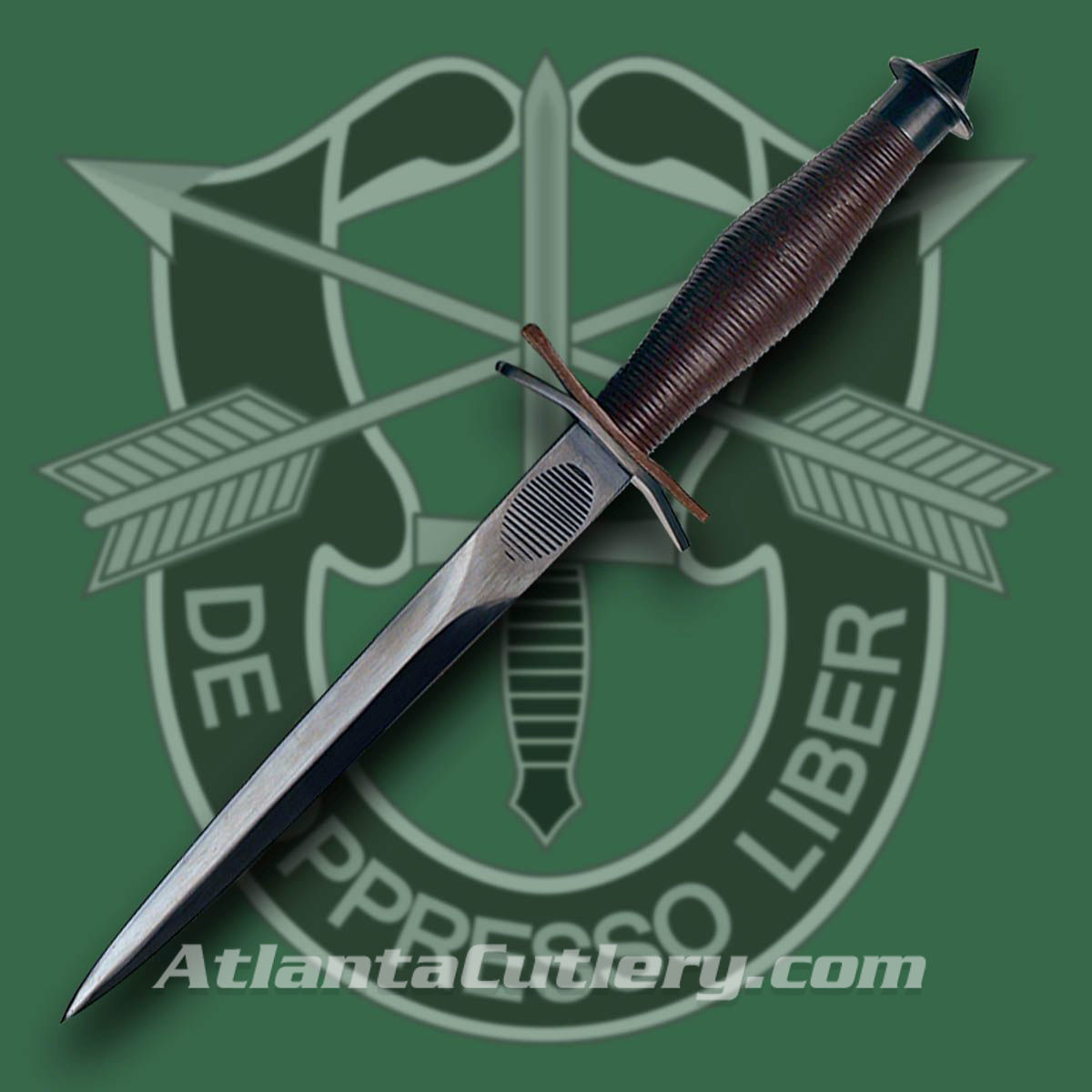 WWII V-42 Elite Special Forces Knife with Scabbard