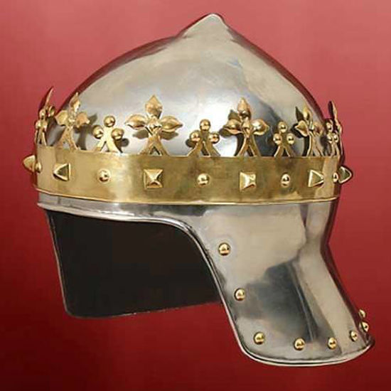 Picture of Helmet with Crown