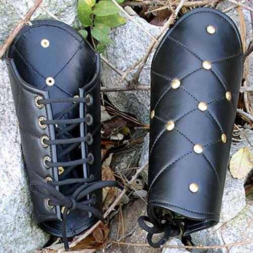 Picture of Leather Vambraces