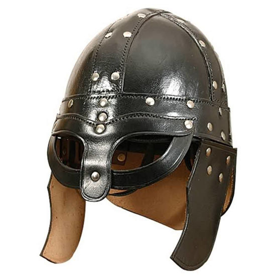 Picture of Leather Viking Helmet