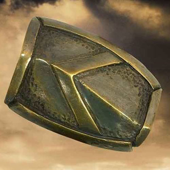 "Picture of ""300"" Rectangular Brooch"