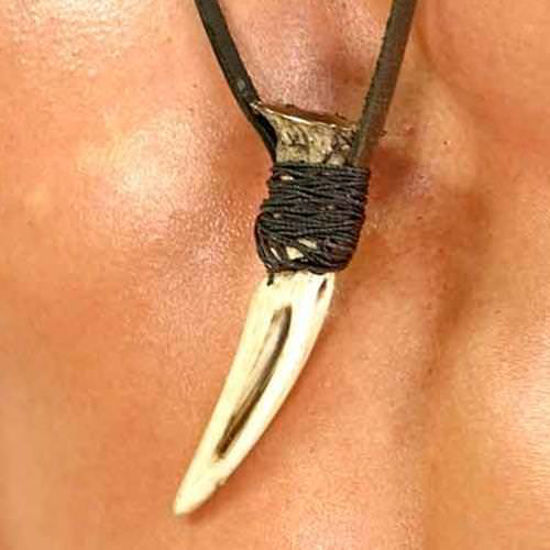 "Picture of ""300"" Wolf's Tooth Necklace"