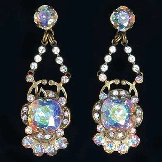 "Picture of ""The Tudors"" Snowflake Earrings"