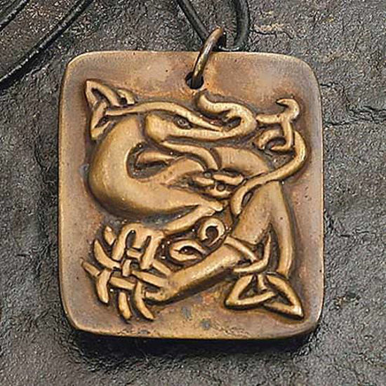 Picture of Celtic Sea Beast Pendant