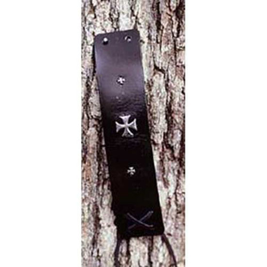 Picture of Gothic Cross Leather Wristbands