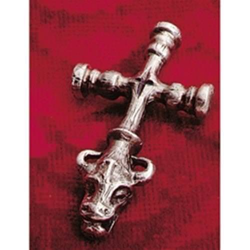 Picture of Thors Hammer Viking Cross Gargoyle Pendant