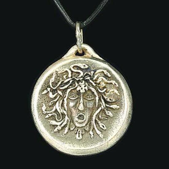 Picture of Grecian Medusa Pendant