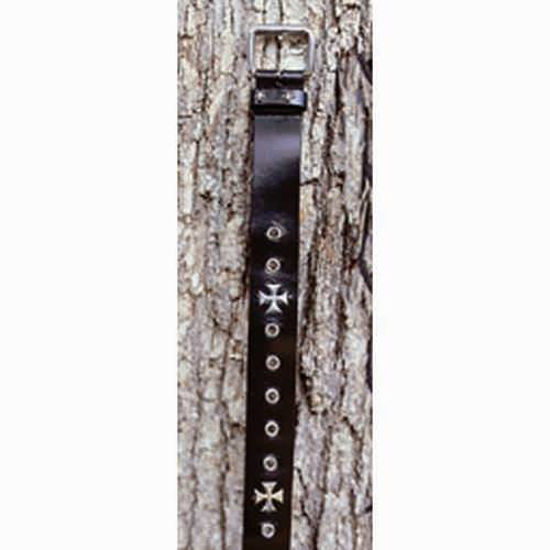 Picture of Gothic Cross Leather Belt