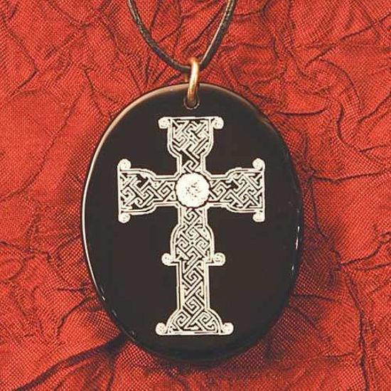 Picture of Black Onyx Cross Pendant