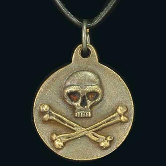 Picture of Skull & Crossbones Pendant
