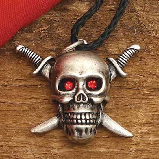 Picture of Skull & Crossed Swords Pendant