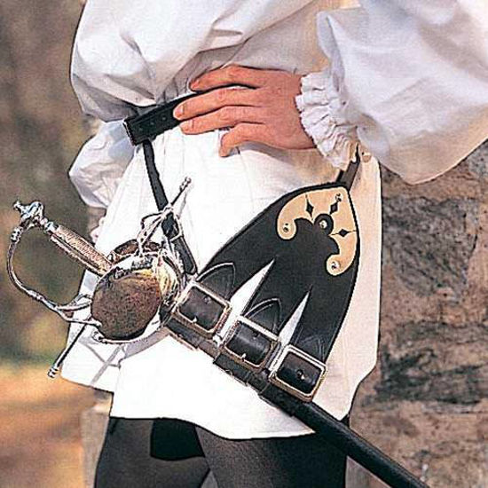 Picture of Three Forked Belt for Rapiers & Swords
