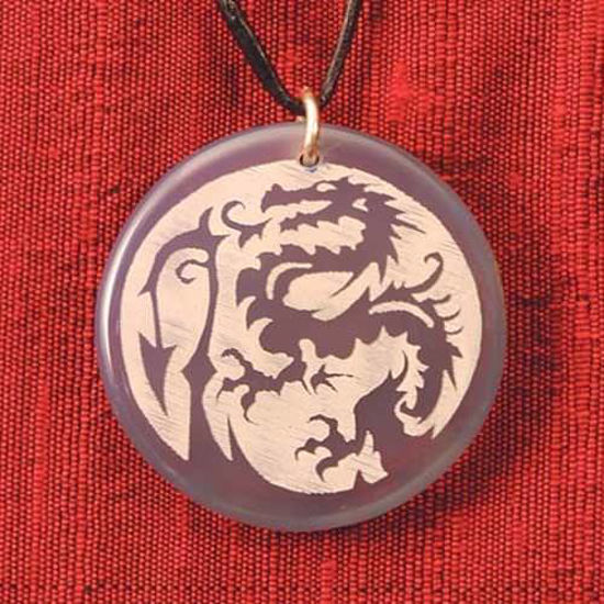 Picture of Translucent Dragon Pendant
