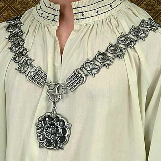 Picture of Tudor Rose Silver Chain of Office