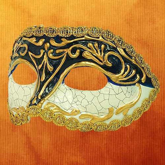 Picture of Venetian Mask Colombina Cordon