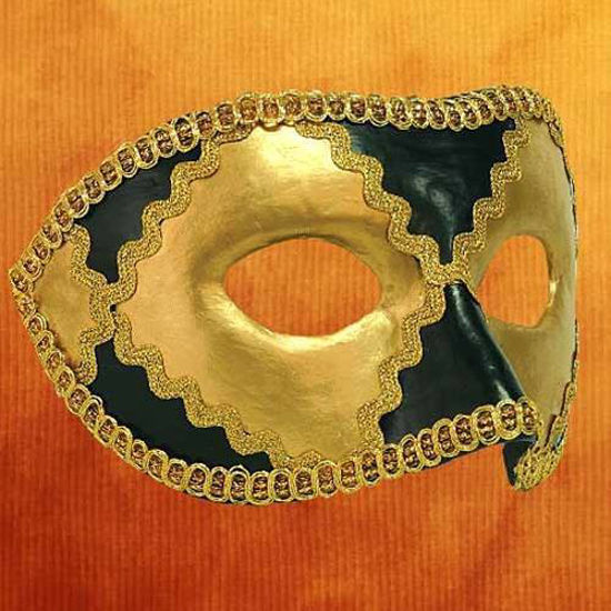 Picture of Venetian Mask Colombina Harlequin