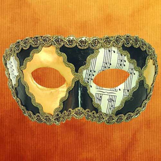 Picture of Venetian Mask Colombina Opera