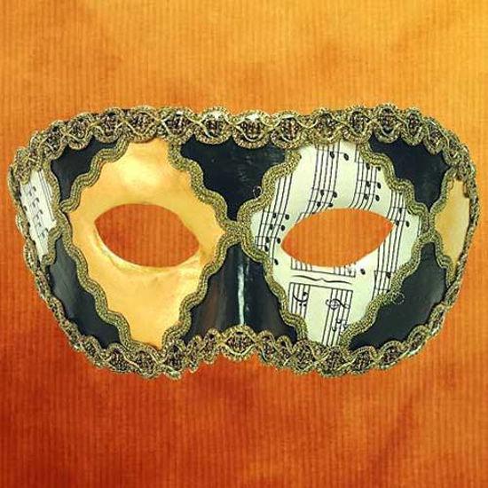 Picture of Venetian Mask Colombina Opera