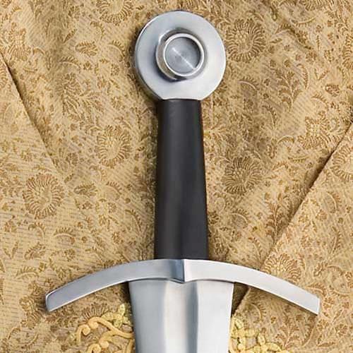 Wheel Pommel on Oakeshott Type XIV  Arming Sword by Windlass