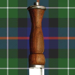 Primitive Scottish Dirk with Wood Grip