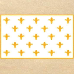 Picture of Fleur de Lis White Flag