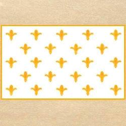 Picture of Fleur de Lis White Flag