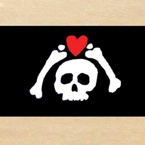 Picture of Microprose Skull and Heart Flag