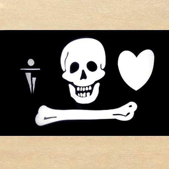 Picture of Stede Bonnet Pirate Flag