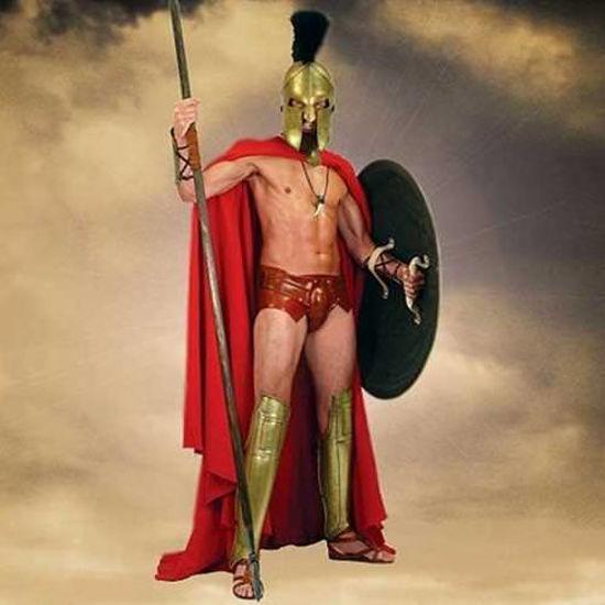 "Picture of ""300"" Spartan Cape"