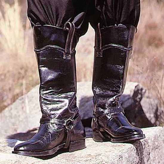Picture of Black Medieval Boots