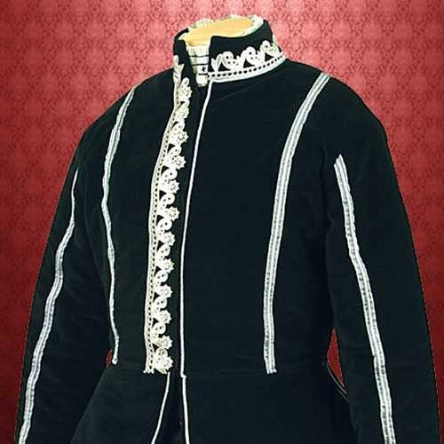 Picture of Black Velvet Doublet