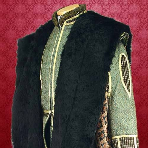 Picture of Brocade Courtly Cape