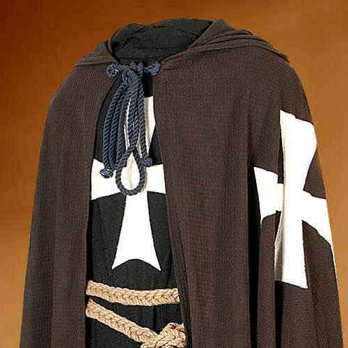 Picture of Hospitaller Hooded Tunic w/ Mail Strips