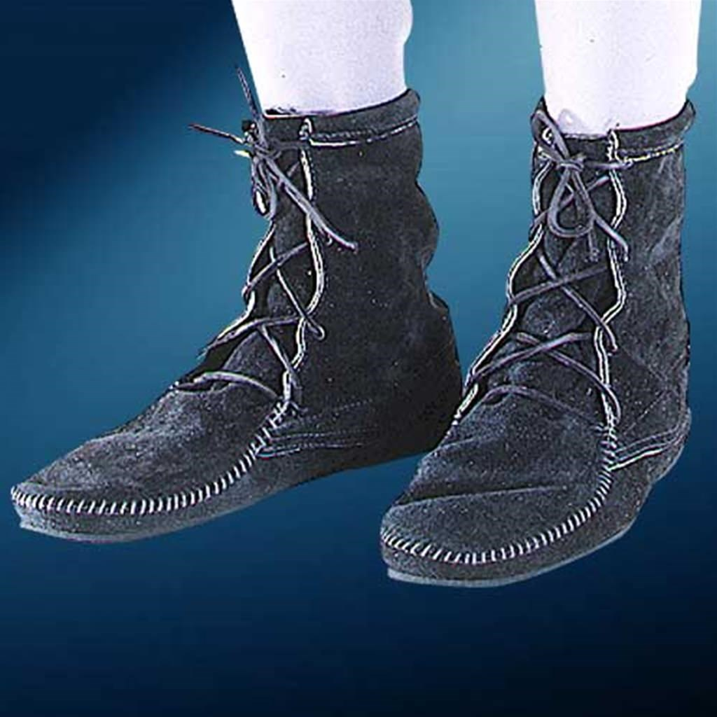 Medieval Low Boots without Fringe