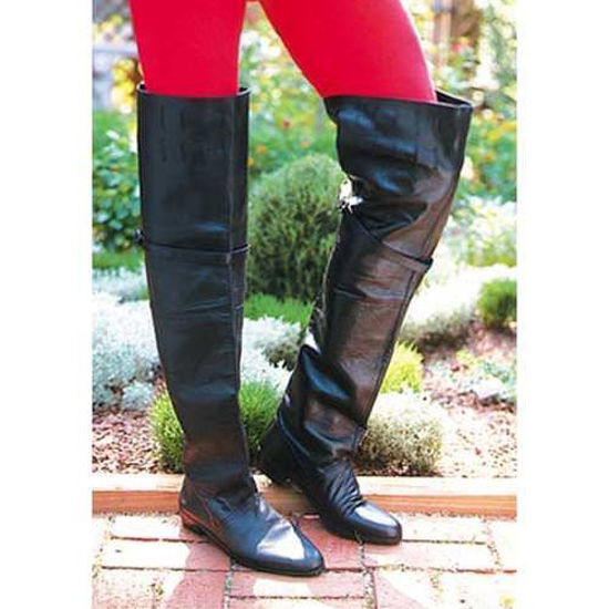 Picture of Tall Leather Renaissance Boots