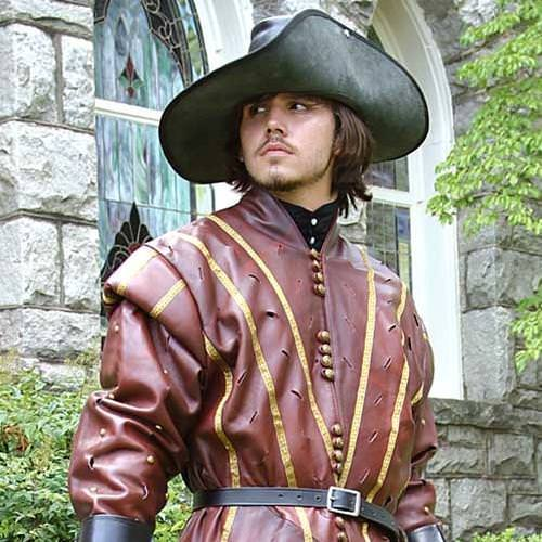 Picture of Swordsman Leather Doublet