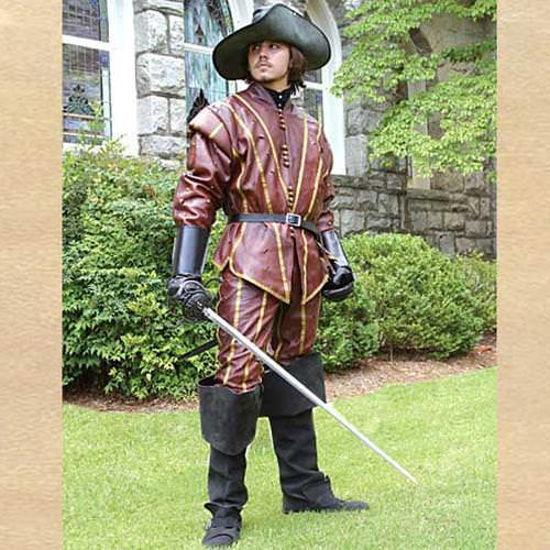 Picture of Swordsman Leather Pants