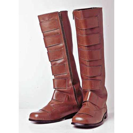 Picture of Tall Brown Leather Boots
