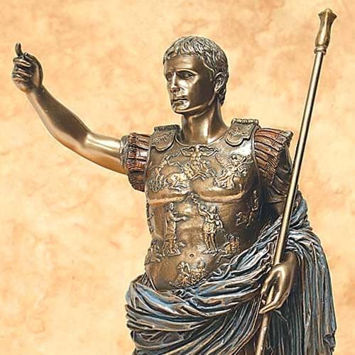 Picture of Augustus Caesar Statue