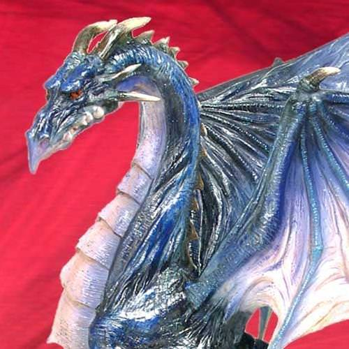 Picture of Azure Dragon Statue