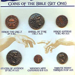 Picture of Coins of the Bible, Set One