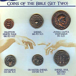 Picture of Coins of the Bible, Set Two