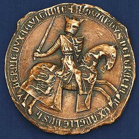 Picture of Edward III (1327-1377) Wax Seal