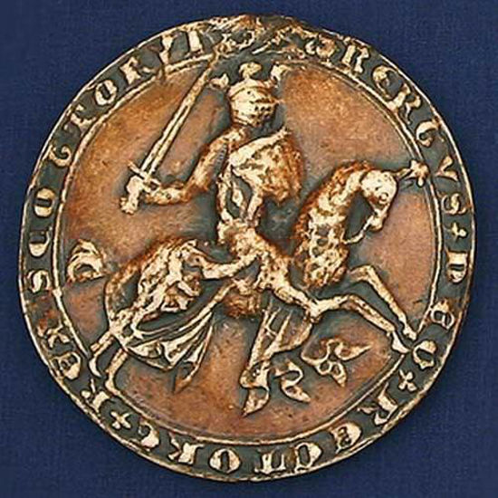 Picture of First Great Wax Seal of Robert the Bruce
