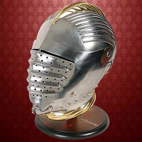 Picture of King Henry Jousting Helmet