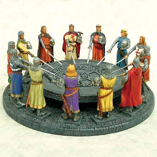 Picture of Knights of the Round Table Centerpiece