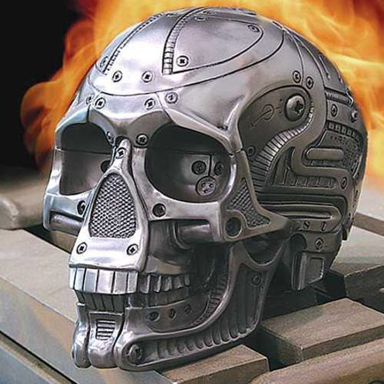 Picture of Robotic Skull