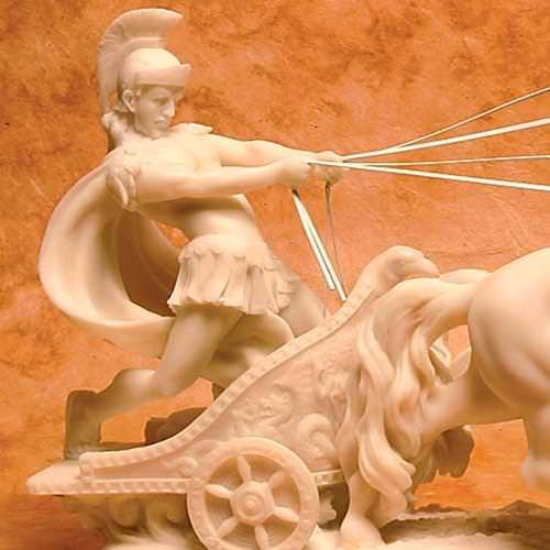 Picture of Roman Chariot Statue