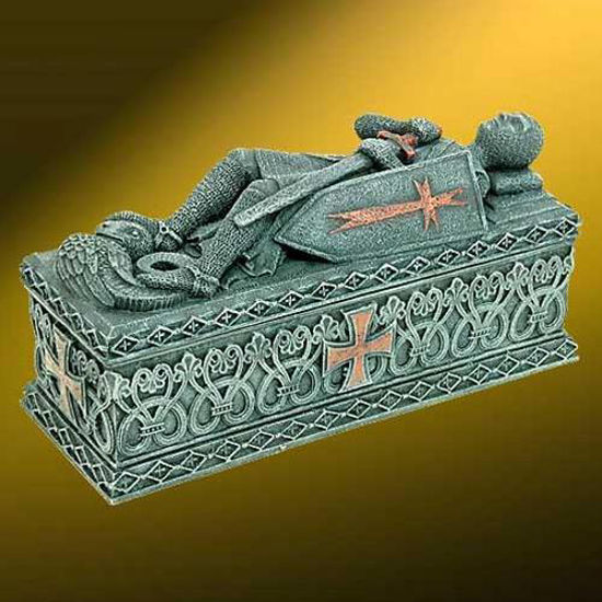 Picture of Templar Knight Effigy Box