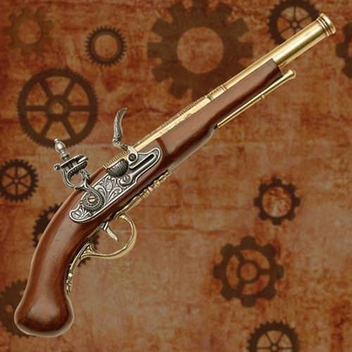 English Dueling Pistol | Pirate Accessories